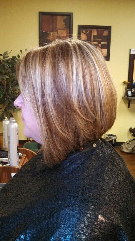 inverted bob hair style side view layered inverted bob and foils by me 2413 | 785e147d56b43f600d3160462813317f inverted bob hairstyles short hairstyles for women