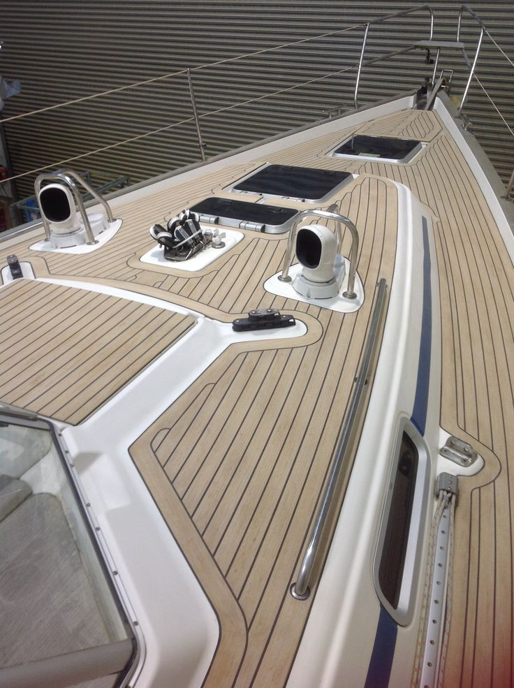 368 best pvc synthetic teak soft boat yacht decking for Best decking material to use