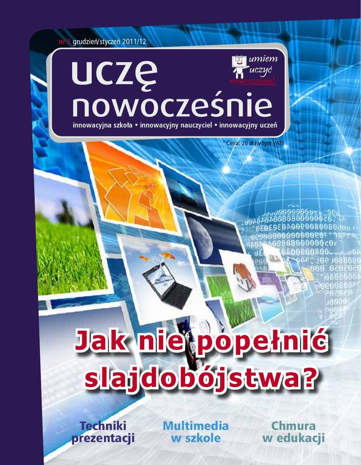 Issuu is a digital publishing platform that makes it simple to publish magazines, catalogs, newspapers, books, and more online. Easily share your publications and get them in front of Issuu's millions of monthly readers. Title: Uczę Nowocześnie nr 1, Author: EduFakty - Uczę Nowocześnie, Name: Uczę Nowocześnie nr 1, Length: 96 pages, Page: 1, Published: 2011-11-30