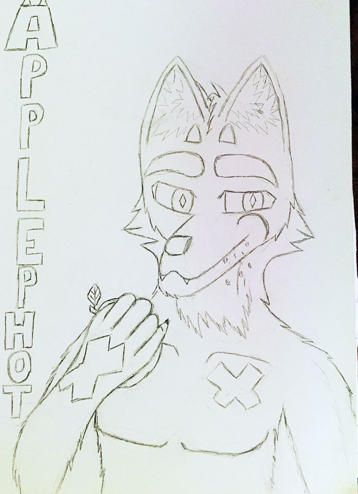 ApplePhot By: DerickPaws  my other Fursona that I made:3
