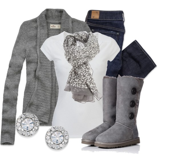 """""""Sparkle Scarf"""" by qtpiekelso on Polyvore"""