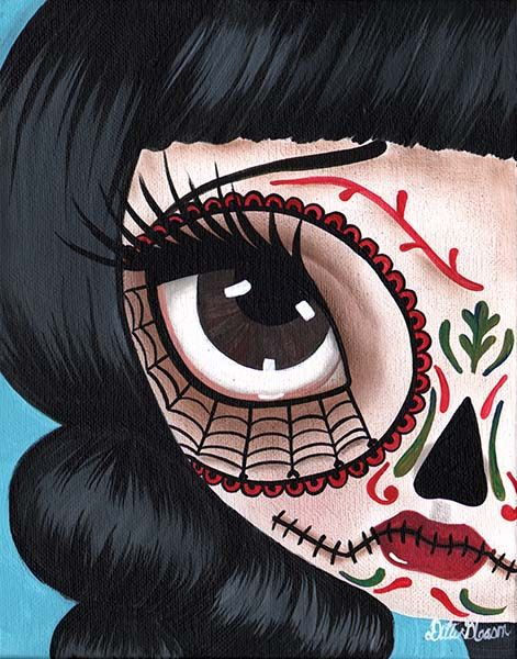Day of the Dead No. 11 - Canvas Giclee