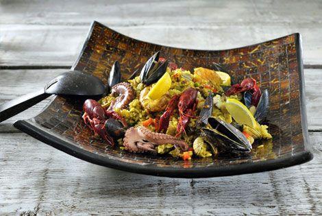 Paella à la Martin-Paella à la Martin