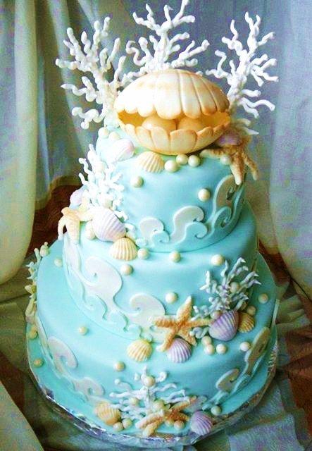 Blue Baby Shower Cakes Pinterest