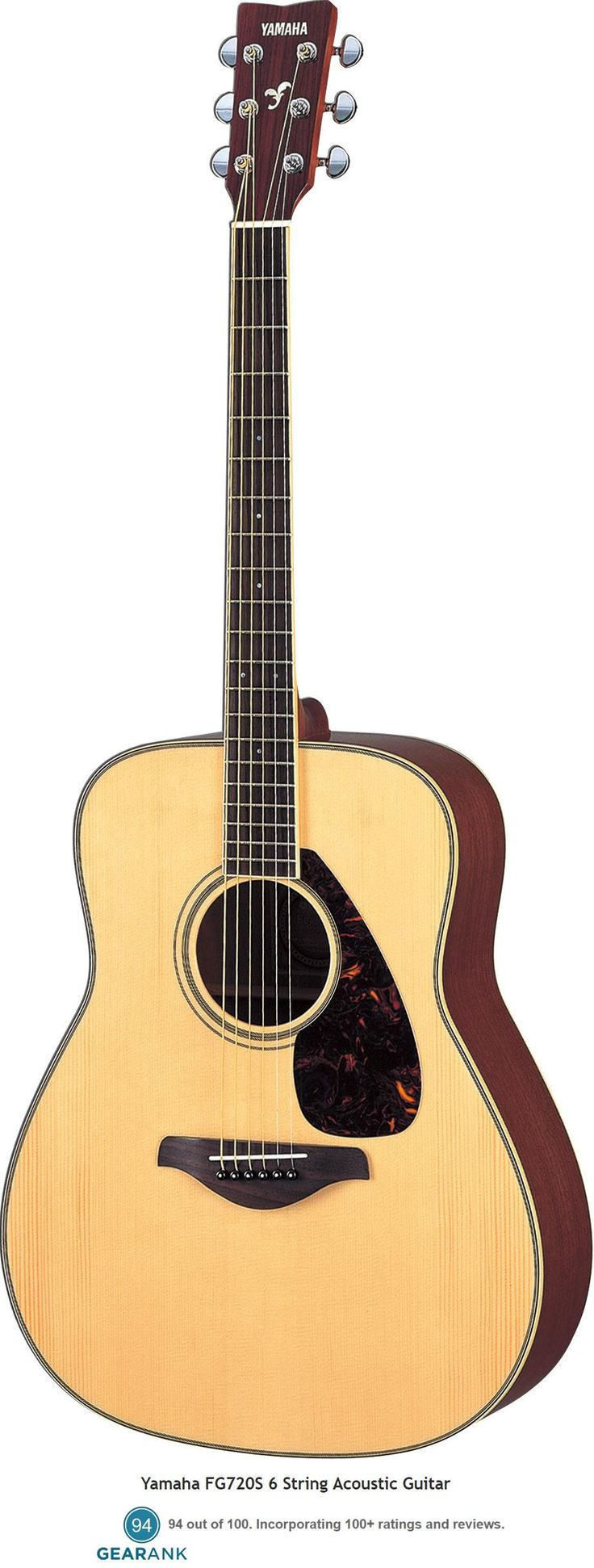 Yamaha FG720S. Although this acoustic guitar is no longer being made by Yamaha it is extremely highly rated and can still be bought online for less than $300.