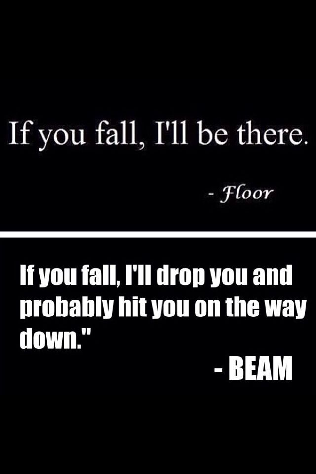 This is funny but I knows it's so true! I split the beam so many times and all those times the beam laughed all evil like