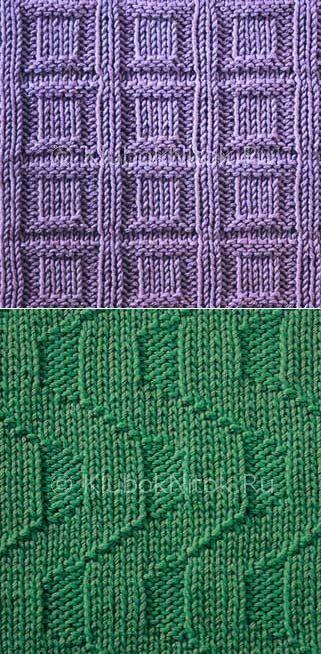 Los patrones simples   sencilla   Punto y ganchillo. Esquemas de tejer.