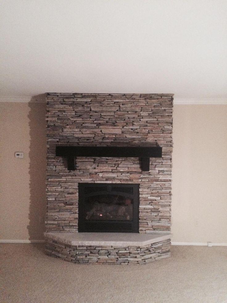 Richmond Ledgestone natural thin veneer by Halquist Stone