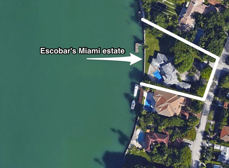 pablo escobar house miami address - Google Search