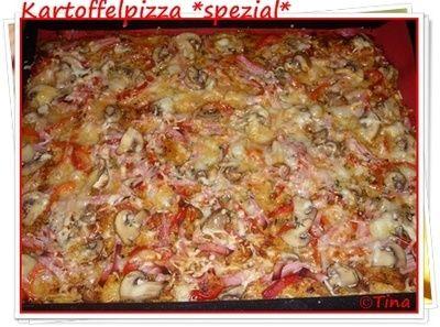 Kartoffelpizza *spezial*