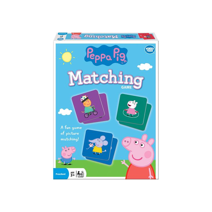 Peppa Pig Matching Game, Board Games