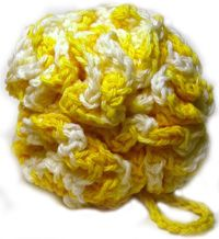 crochet bath puff