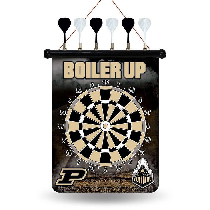Purdue Boilermakers NCAA Magnetic Dart Board