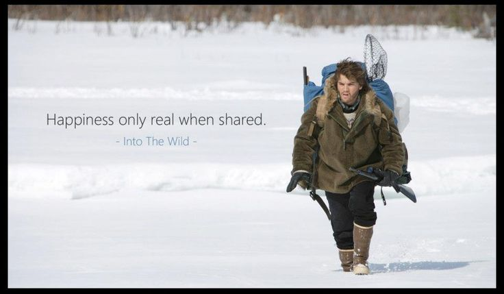 a comparison of the novel and film adaptation of the life of christopher mccandless The young man whose life was chronicled in the book and subsequent film adaptation, into the wild, often seems more myth than man after his untimely death in 1992, his story made mccandless a larger-than-life sensation and touted his philosophy of simplicity and detachment from material goods.