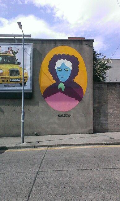 Anne Devlin, Liberties, Dublin.