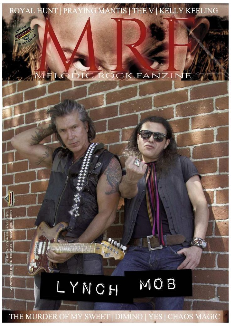 Melodic Rock Fanzine #69  This new issue includes reviews and interviews of Lynch Mob, Praying Mantis, UDO, Dimino, Kelly Keeling, Symphony X, Skintrade, Chaos Magic, The V, Tomas Bergsten's Fantasy, Royal Hunt, The Murder of My Sweet.… and more!