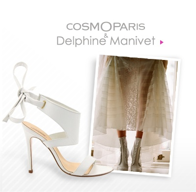 "Collection de souliers Mariage ""COSMOPARIS & Delphine Manivet"""