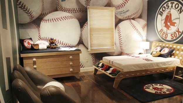 Best Baseball Room Ideas For T**N Boy Share Tyler Room 400 x 300