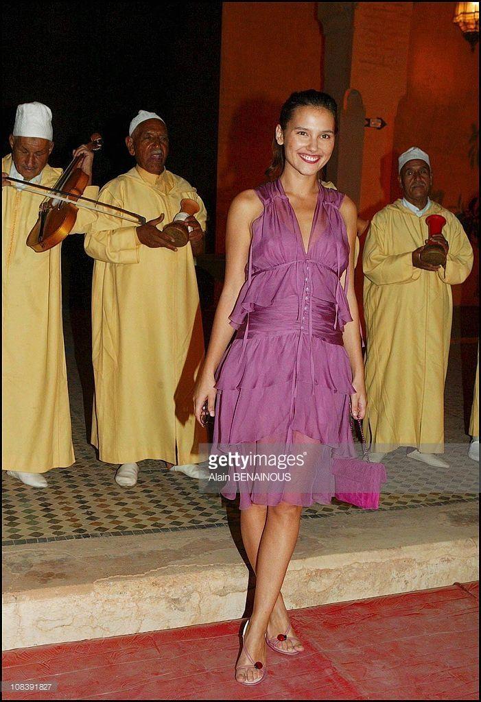 Photo d'actualité : Virginie Ledoyen In Marrakech, Morocco on October...