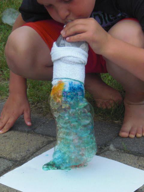Making Snake Bubbles