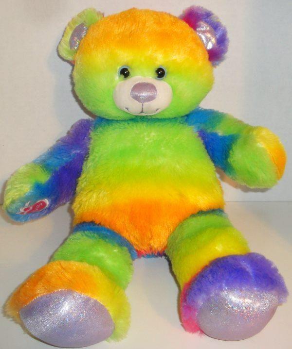 6e017aeb210 BUILD A BEAR RAINBOW GLITTER TEDDY 17