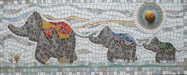 17 Best Images About Elephant Mosaics On Pinterest