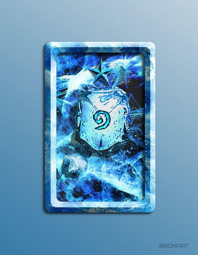 ArtStation - Hearthstone card back, Brok Art