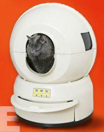 Litter-Robot, caja de arena para gatos #whycatmeow Find out at - Catsincare.com!