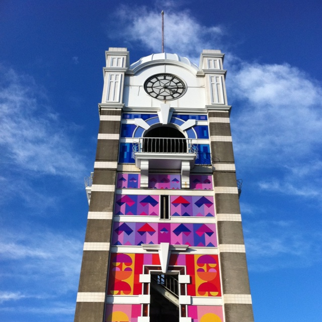 New Plymouth Clock Tower, New Zealand