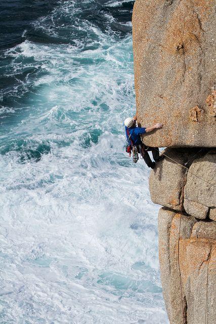 #Climbing in #Cornwall