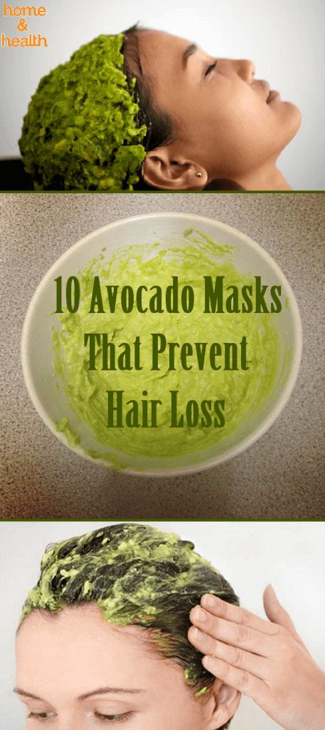 There is one main reason for hair loss, it is a vitamin deficiency. Avocado is a very healthy plant which can benefit us a lot. It's rich in vitamins B & E.