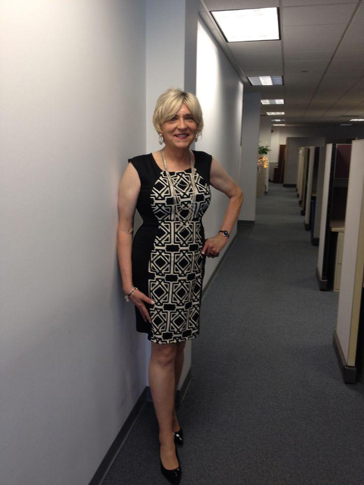 Fashion To Figure Dress, Payless Karmen Black Patent -3201