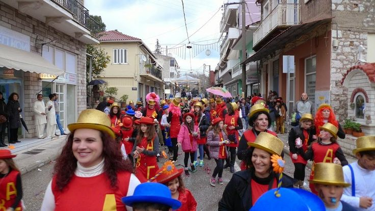 Αντίρριο Ναυπακτίας: Ναύπακτος: Συνάντηση με τους καρναβαλιστές