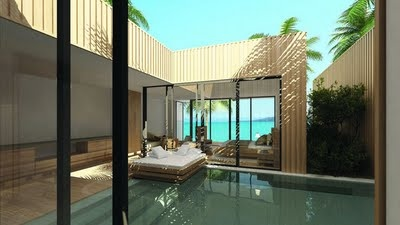 More Island-style than Pacific...From the Hayman Island Resort, Great Barrier Reef, Australia