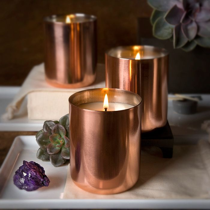 A+R Store - Copper Tin Soy Wax Candle