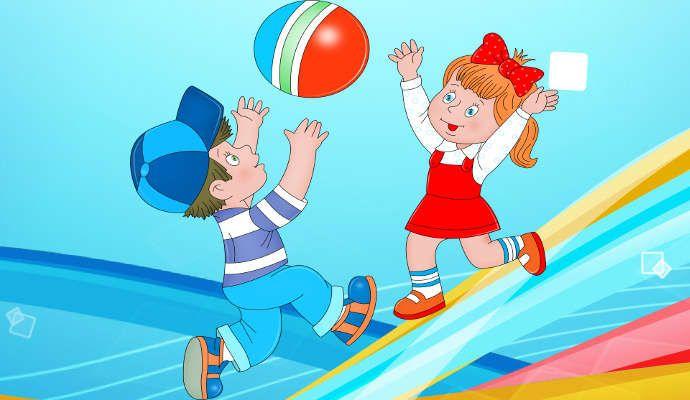 Игры для ребенка 3 лет с мячом