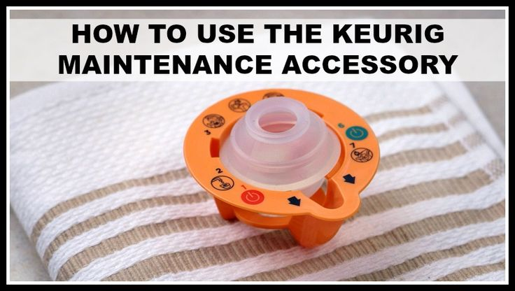 The Keurig maintenance accessory will keep your Keurig 2.0 performing optimally. It works great for unclogging Keurig needles and many other issues.