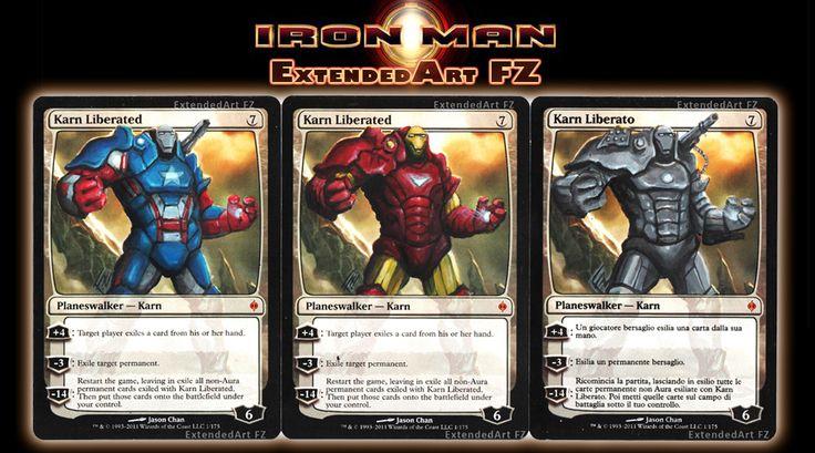 Iron Karn! Magic: The Gathering cards Altered Art speed ...