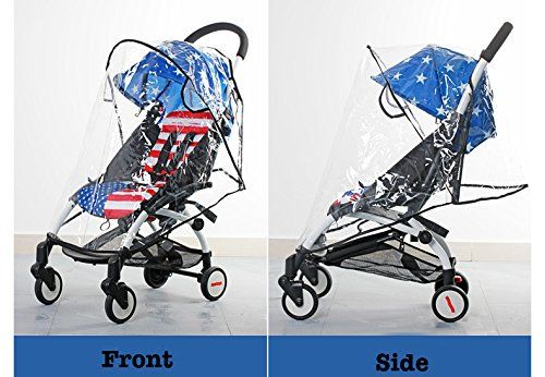 Amazon.com : MJ EZ4U Deluxe Stroller Weather Shield, Baby Rain Cover, Universal Size, Waterproof, Water Resistant, Windproof, See Thru, Ventilation, Clear, Plastic, Protection, Shade, Umbrella, Pram, Vinyl : Baby