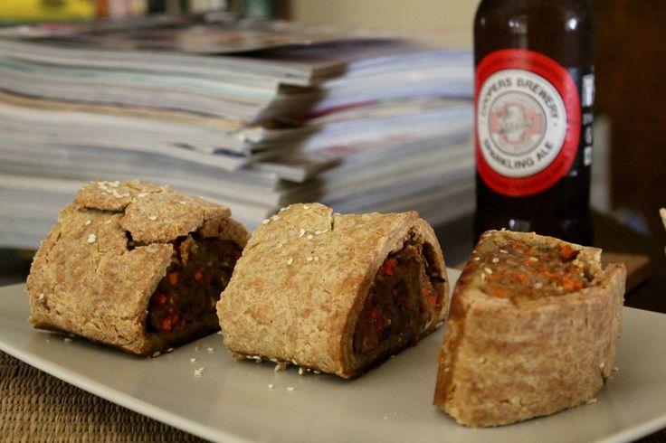 Super Bowl Sausage Rolls (gluten free) | Wonderland Eats