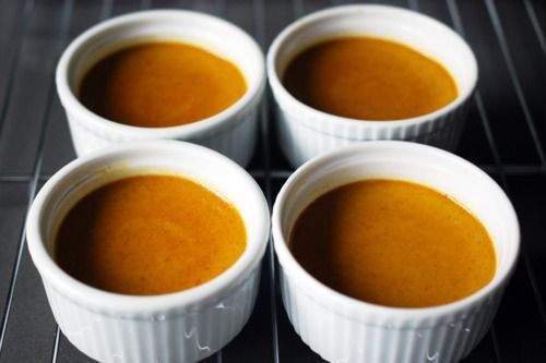 Paleo Pumpkin, Coconut, & Maple Custard Cups | Award-Winning Paleo Recipes | Nom Nom Paleo