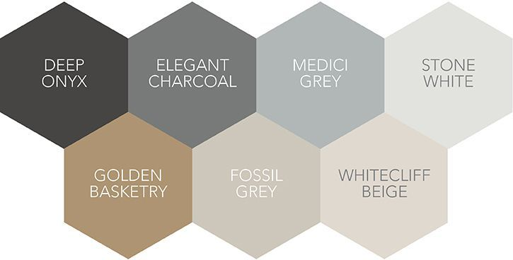 A range of greys and beiges are ideal for a Nordic look                                                                                                                                                                                 More