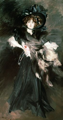 Giovanni Boldini - Mademoiselle Lanthelme 1907