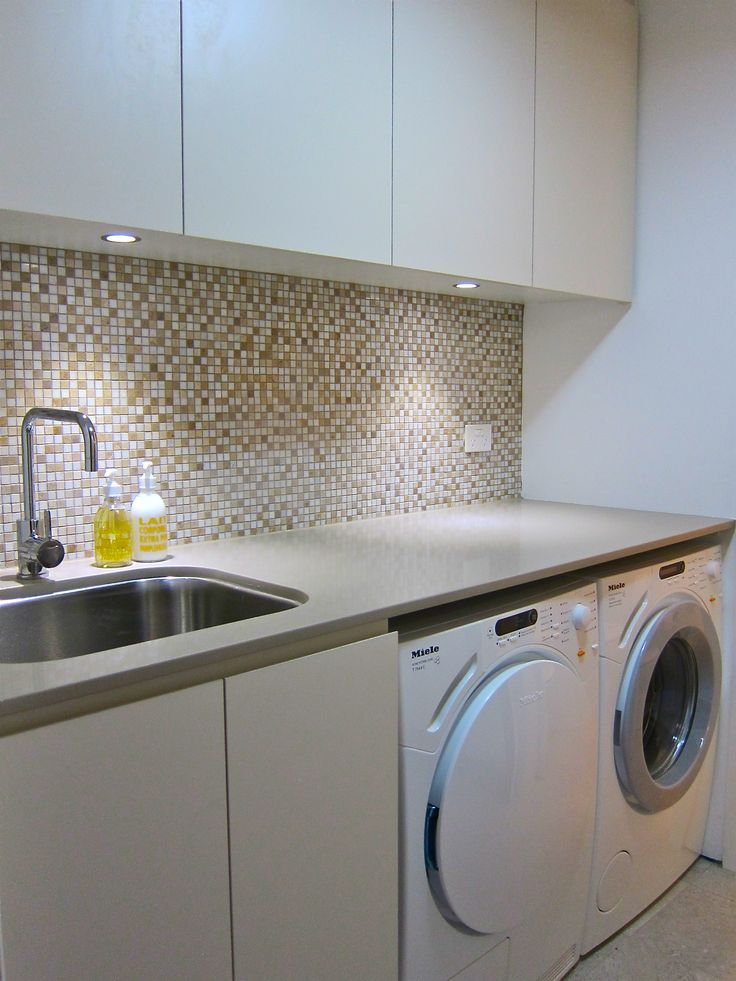 front loaders and undermount sinks are really creating endless laundry design possibilities laundry before