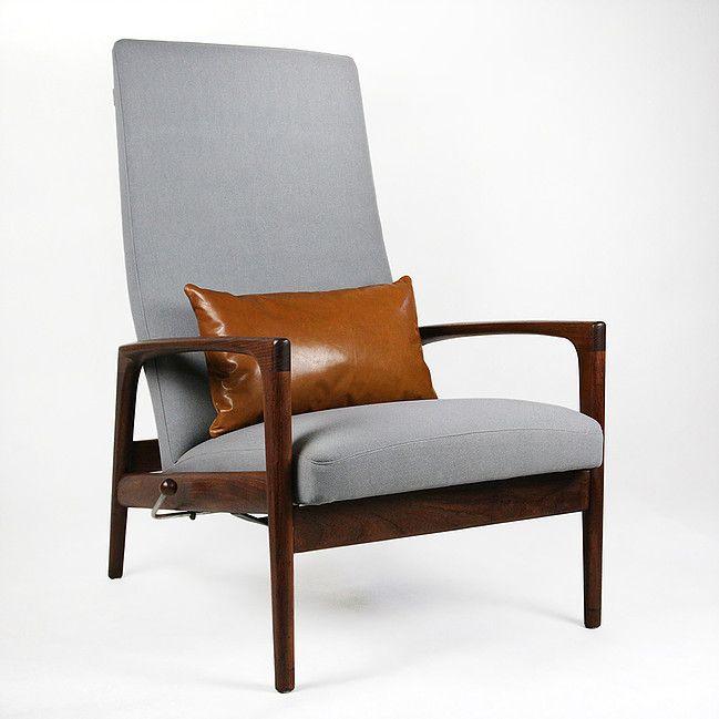 Skandynawski fotel vintage