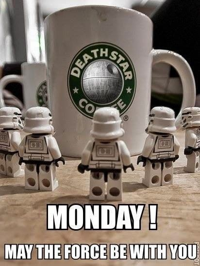 #HappyMonday #FeelTheForce #StarWarsIsMyDrug