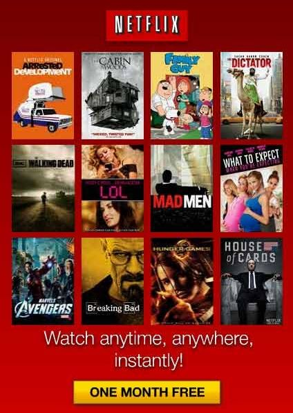 New video rental releases at Netflix - DVD mail rental