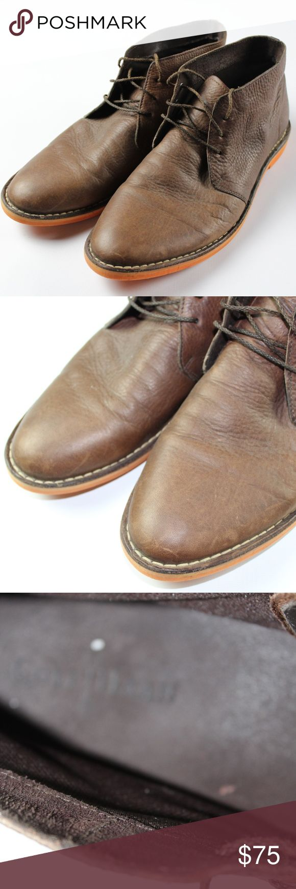 Cole Haan 11.5 Leather Chukka Boots Brown Orange Cole Haan Leather Chukka Boots  Excellent boots  Comes from a smoke-free household  The size is 11.5  Brown and Orange  Leather   Check out my other items for sale in my store! Cole Haan Shoes Chukka Boots