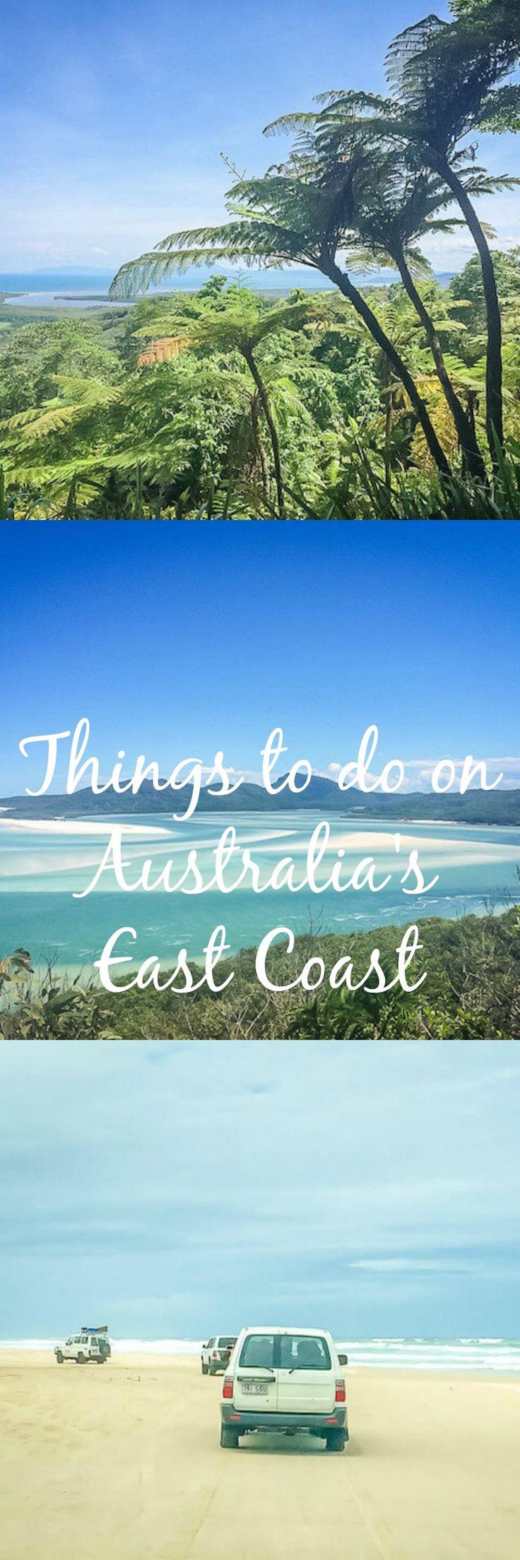 Die schönsten Stopps und unvergesslichsten Aktivitäten entlang der Ostküste Australiens