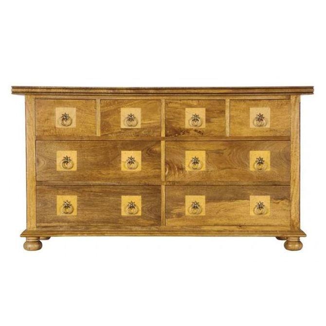 Flagstone lowboy - 8-drawer